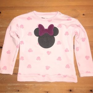 5/$25 Minnie Mouse Fleece Sweatshirt